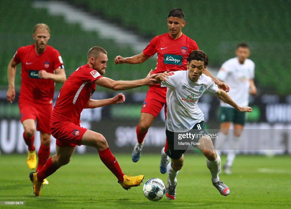 Werder Bremen v 1. FC Heidenheim - Bundesliga Playoff Leg One : News Photo