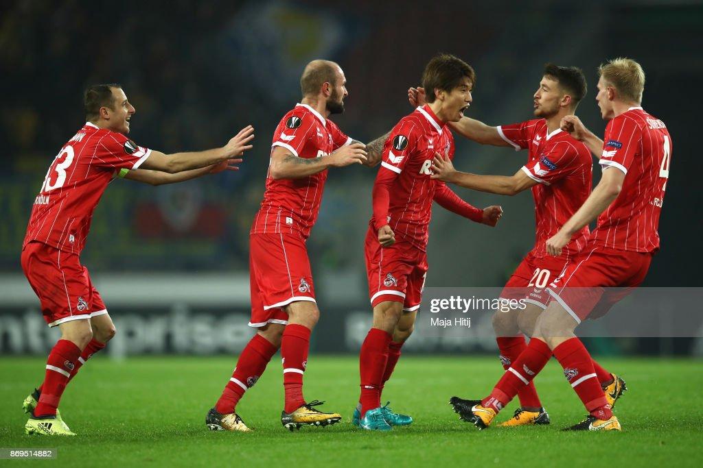 1. FC Koeln v BATE Borisov - UEFA Europa League