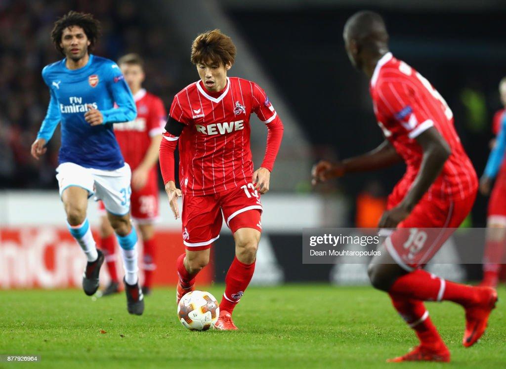 1. FC Koeln v Arsenal FC - UEFA Europa League : ニュース写真