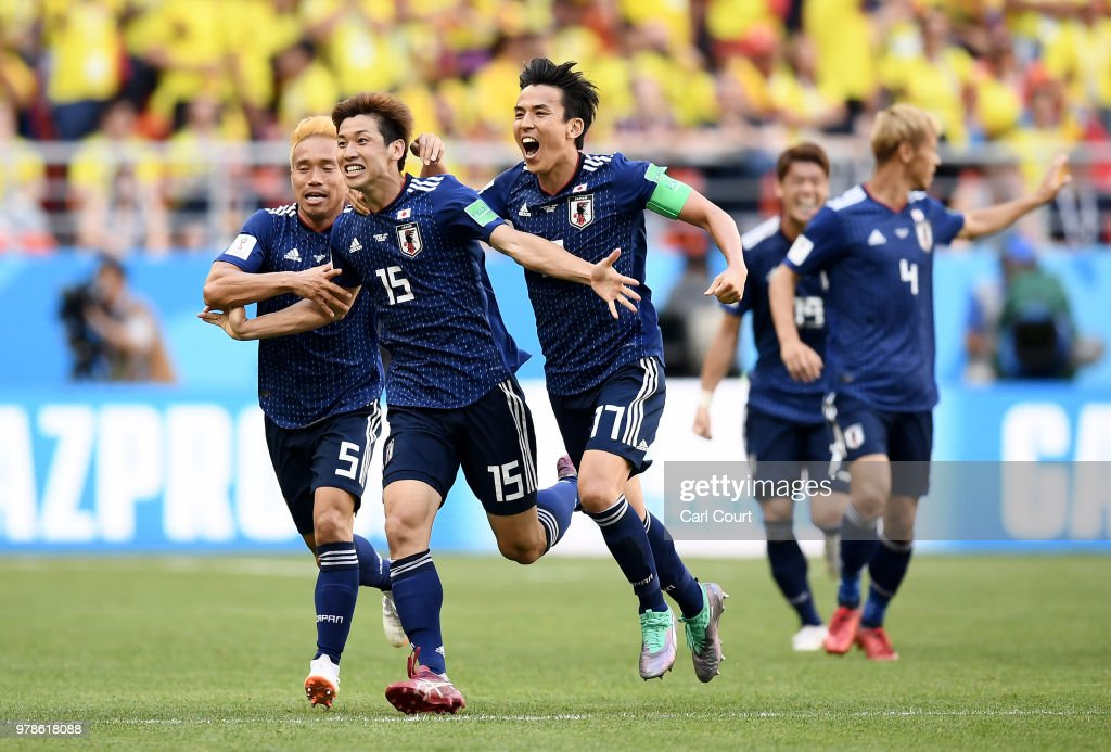 Colombia v Japan: Group H - 2018 FIFA World Cup Russia : Foto di attualità
