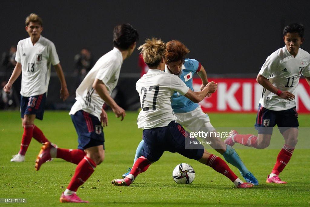 Japan v Japan U-24 - Friendly : ニュース写真