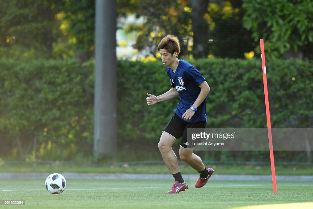 Japan Training Session : News Photo
