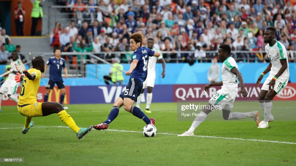 Japan v Senegal: Group H - 2018 FIFA World Cup Russia : News Photo
