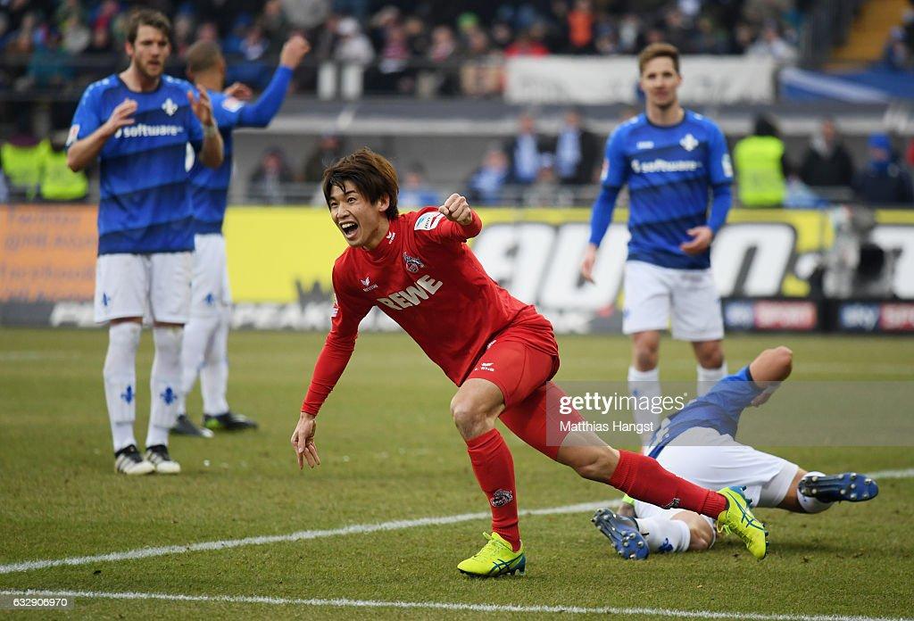 SV Darmstadt 98 v 1. FC Koeln - Bundesliga : ニュース写真