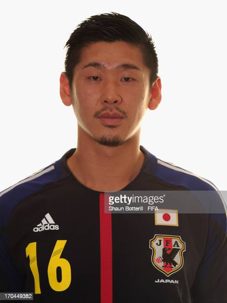 Yuzo Kurihara of Japan poses for a portrait at the Kubistchek Plaza Hotel on June 13 2013 in Brasilia Brazil