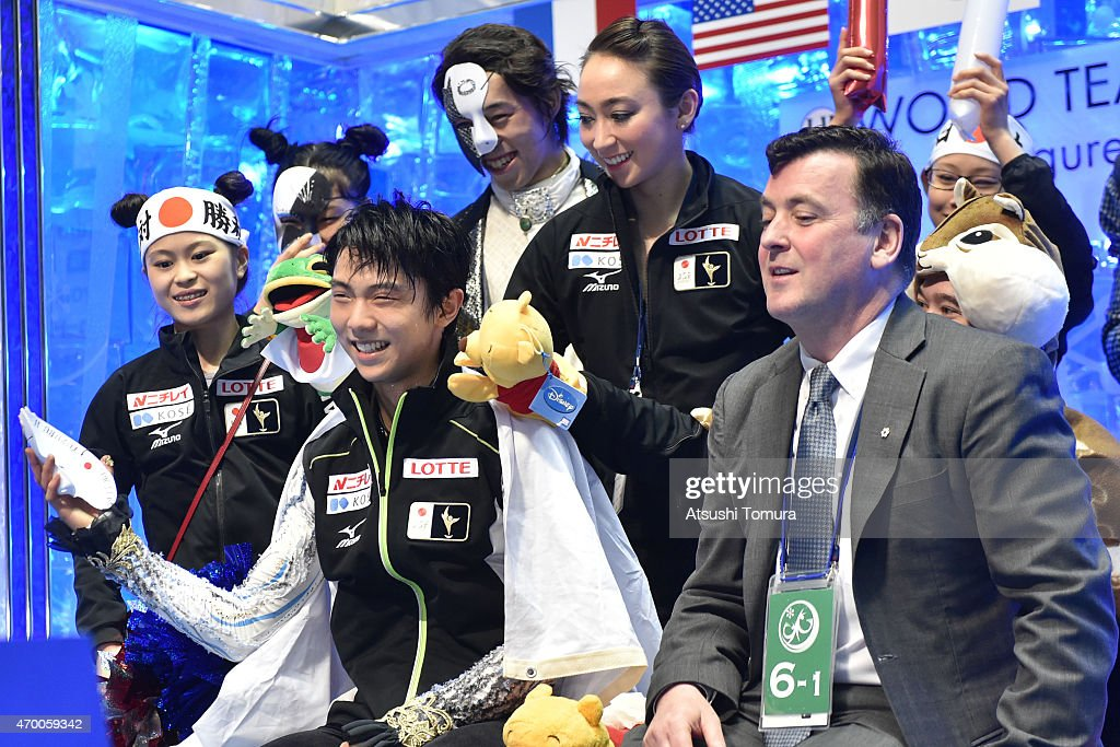 ISU World Team Trophy - Day 2 : ニュース写真