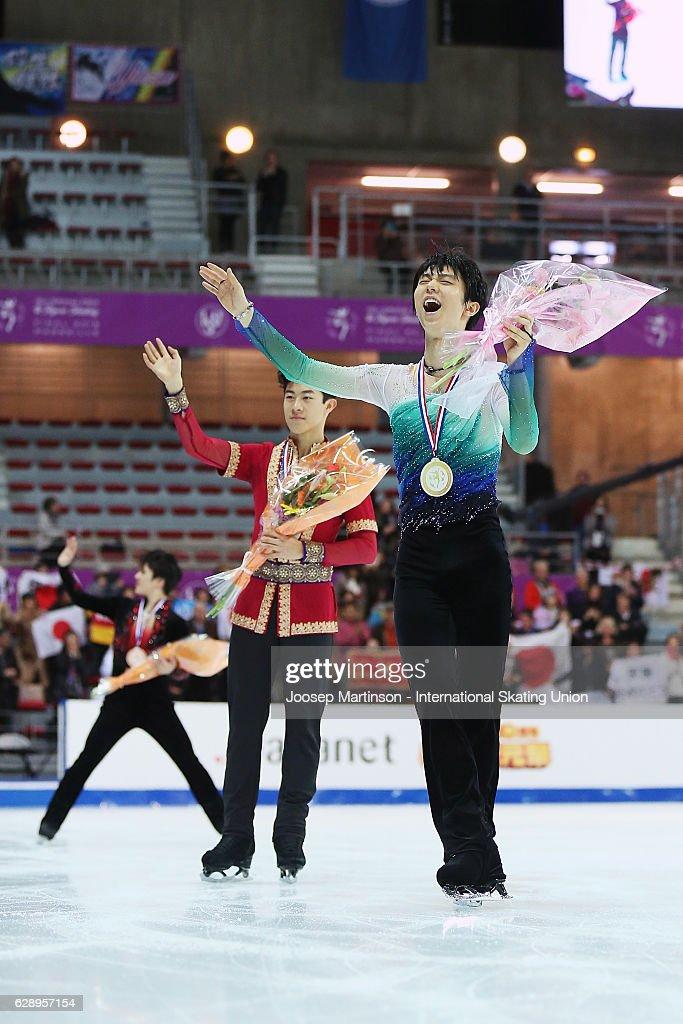 ISU Junior & Senior Grand Prix of Figure Skating Final - Marseille Day 3