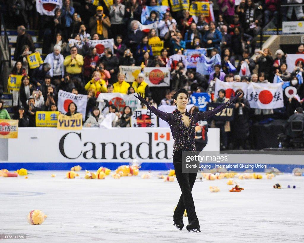 ISU Grand Prix of Figure Skating - Skate Canada : News Photo