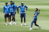 sydney australia yuzvendra chahal fields during