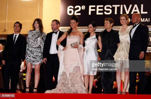Yvan Attal Charlotte Gainsbourg Lars Von Trier Bente Froge Giada Colagrande Willem Dafoe Meta Louise Foldager and guest attend the 'Antichrist'...