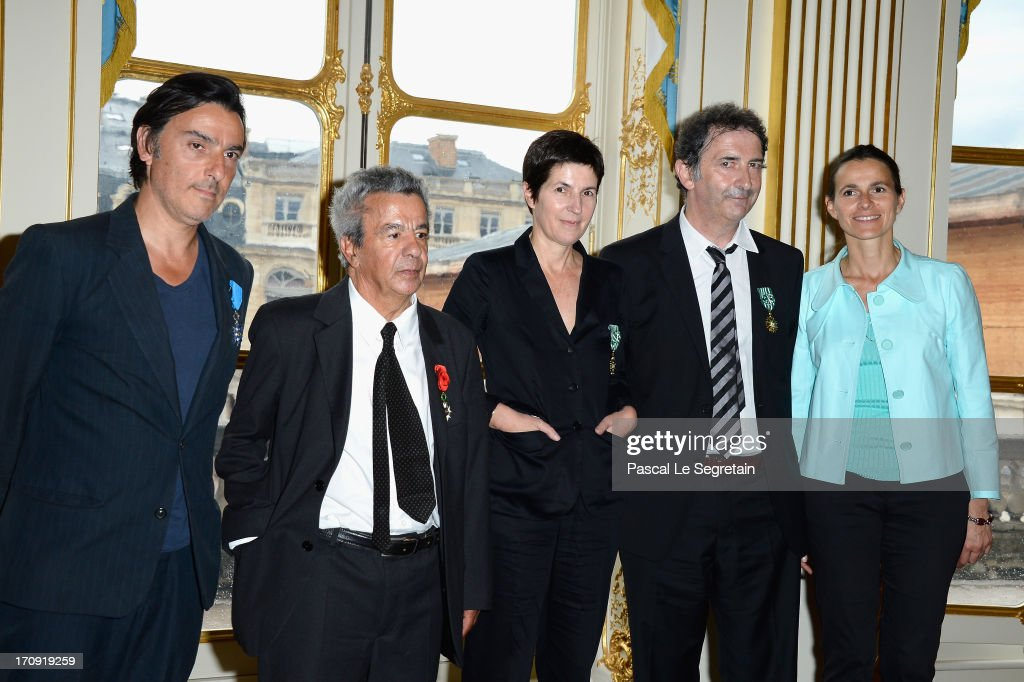 Honour Ceremony Hosted By The French Ministry Of Cultural Affairs : News Photo