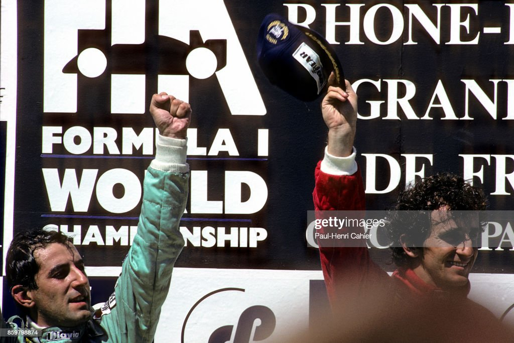 Capelli & Prost At Grand Prix Of France : News Photo
