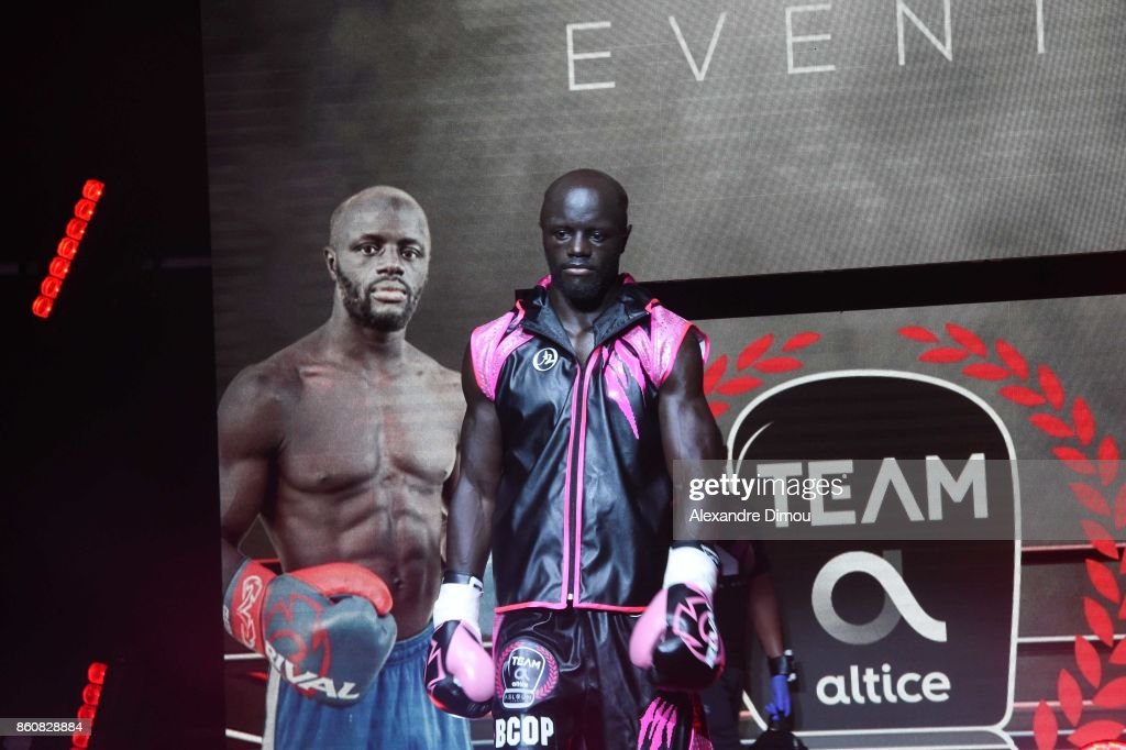 Yvan Mendy during the Boxitanie Event on October 12, 2017 in Montpellier, France.
