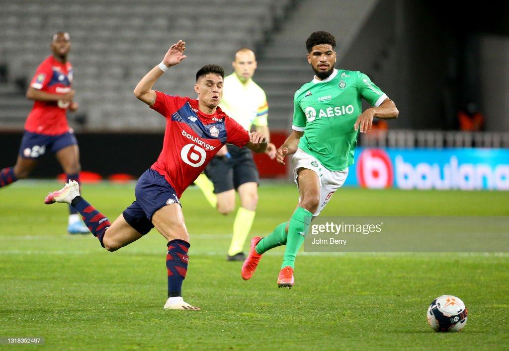 Lille OSC v AS Saint-Etienne - Ligue 1 : News Photo