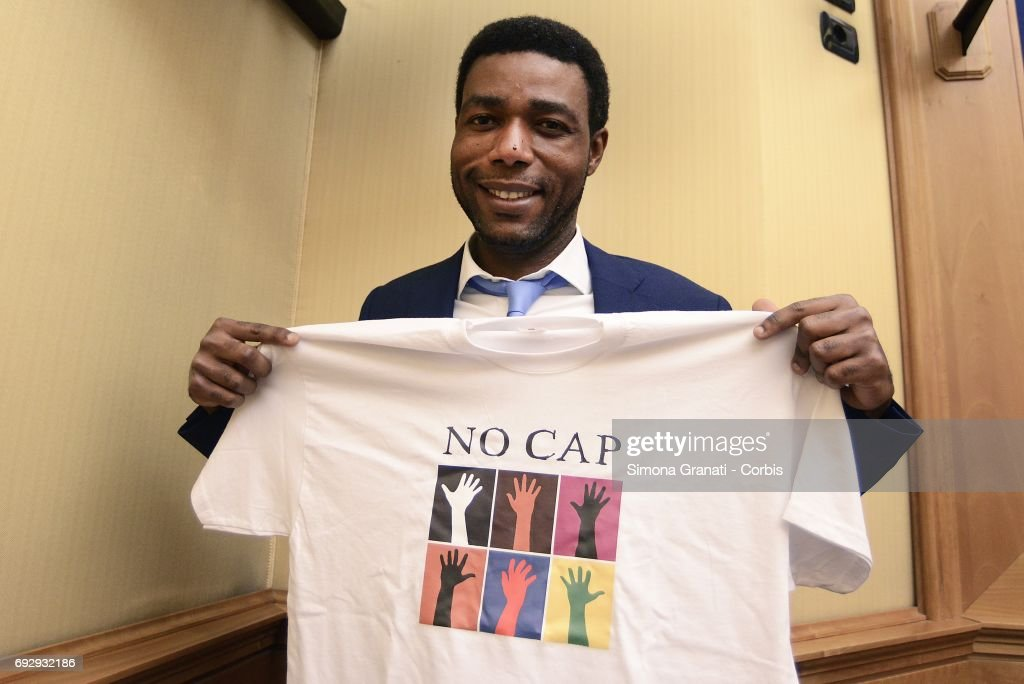 Five Star Movement Presents 'No Cap' Association Against Agricultural Labor Exploitation : News Photo