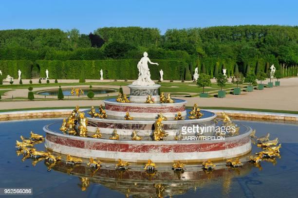 Jardins Du Chateau De Versailles Stock Photos And Pictures