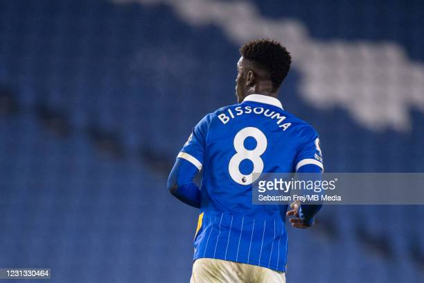Yves Bissouma of Brighton & Hove Albion during the Premier League match between Brighton & Hove Albion and Crystal Palace at American Express...