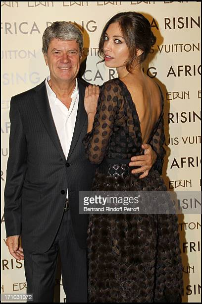 Yves Carcelle Margareth Made at Every Journey Began In Africa Party For The Exhibition Africa Rising And The Discovery Of The Collaboration Between...