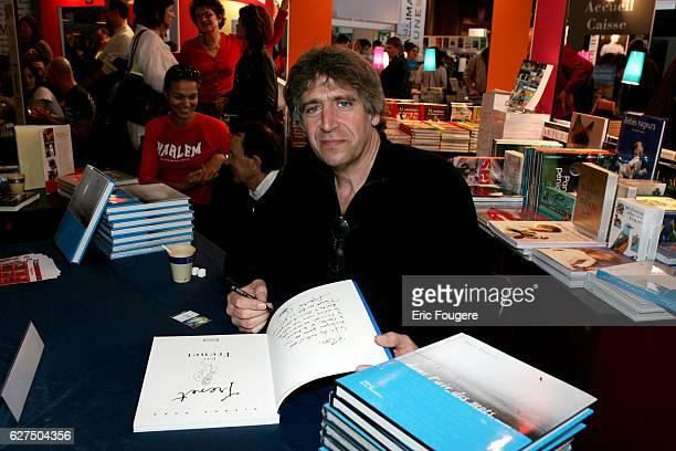 Yves Duteil at the 25th Salon du Livre held in Paris