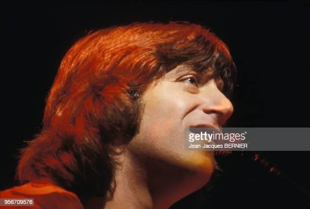 Yves Duteil en concert à l'Olympia le 4 janvier 1984 à Paris France