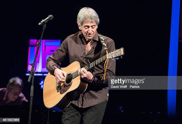 Yves Duteil performs at Le Trianon on January 10 2014 in Paris France
