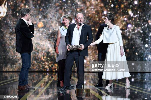 Yves Hinant attend the Cesar Film Awards 2019 at Salle Pleyel on February 22 2019 in Paris France