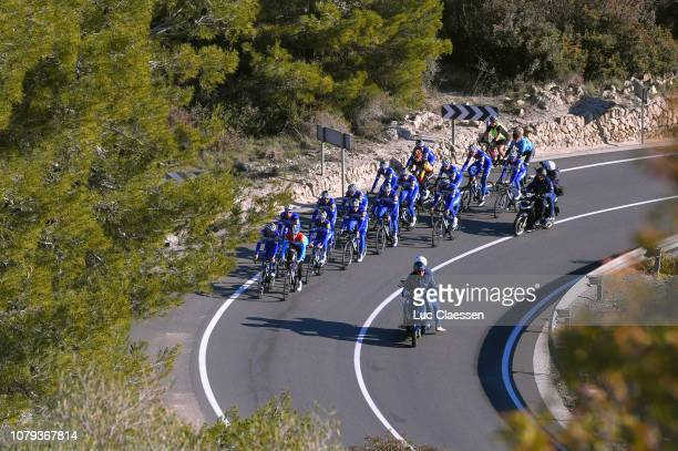 Yves Lampaert of Belgium and Deceuninck - Quick-Step Team / Bob Jungels of Luxembourg and Deceuninck - Quick-Step Team / Deceuninck - Quick-Step Team...