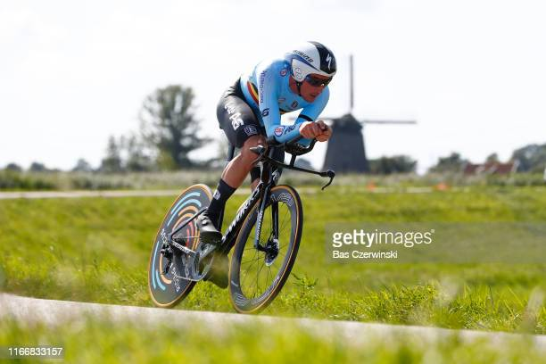 Yves Lampaert of Belgium / during the 25th UEC Road European Championships 2019 - Elite Men's Time Trial a 22,4km Individual Time Trial race from...