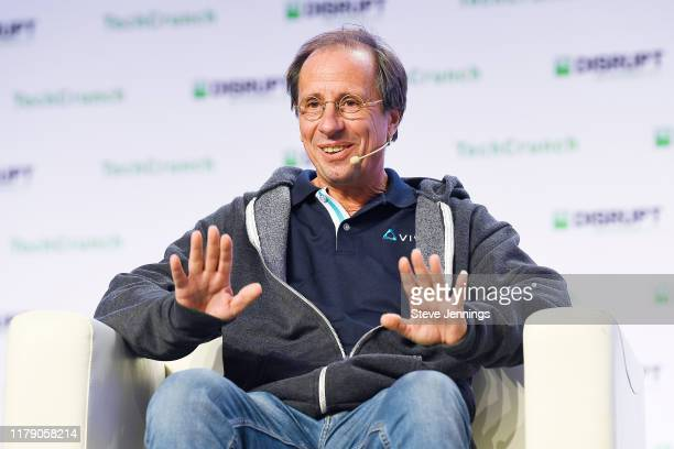 Yves Maitre speaks onstage during TechCrunch Disrupt San Francisco 2019 at Moscone Convention Center on October 04 2019 in San Francisco California