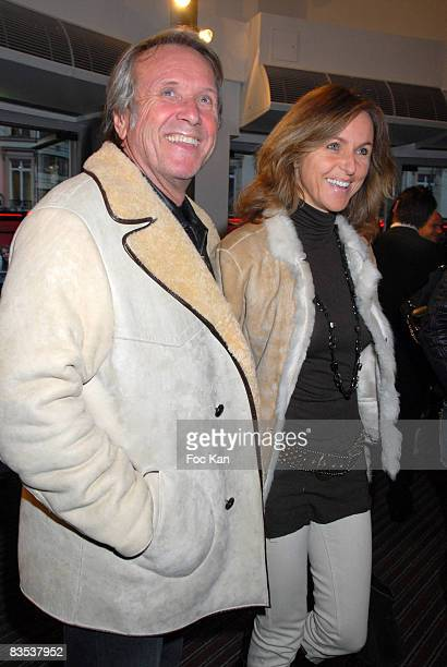 "Yves Renier and His Wife Karine attend the ""Sans Haine ni Arme ni Violence"" Paris Premiere at the Paramount Opera on April 07, 2008 in Paris, France."