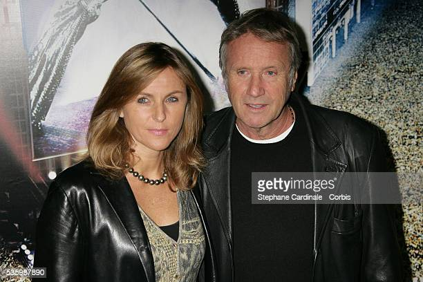 "Yves Renier with his wife Karine attend the premiere of ""Jean-Philippe"" in Paris."