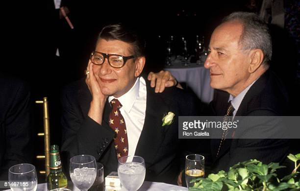 Yves Saint Laurent and Pierre Berge