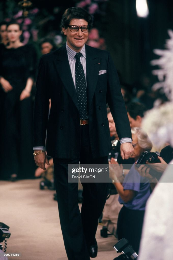 65388609205 Yves Saint Laurent at Haute Couture Show Fall Winter 1986 1987 in ...