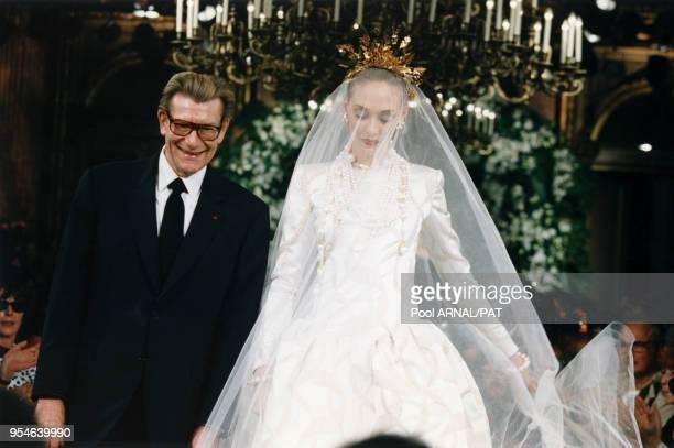 World S Best Yves Saint Laurent Wedding Dress Stock Pictures