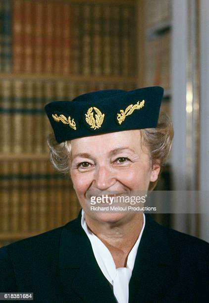 Yvette Chassagne was the first female police commissioner in France
