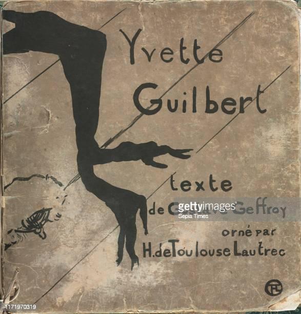 Yvette Guilbert French Series 1894 Henri de ToulouseLautrec Lithograph