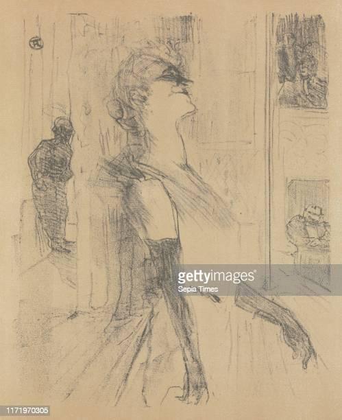Sur la scene 1898 Henri de ToulouseLautrec Lithograph