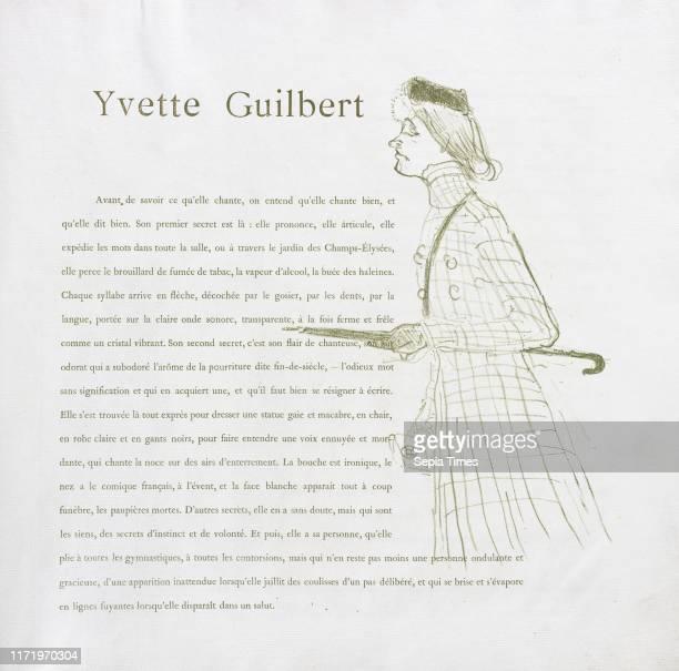 No 1 1894 Henri de ToulouseLautrec Lithograph
