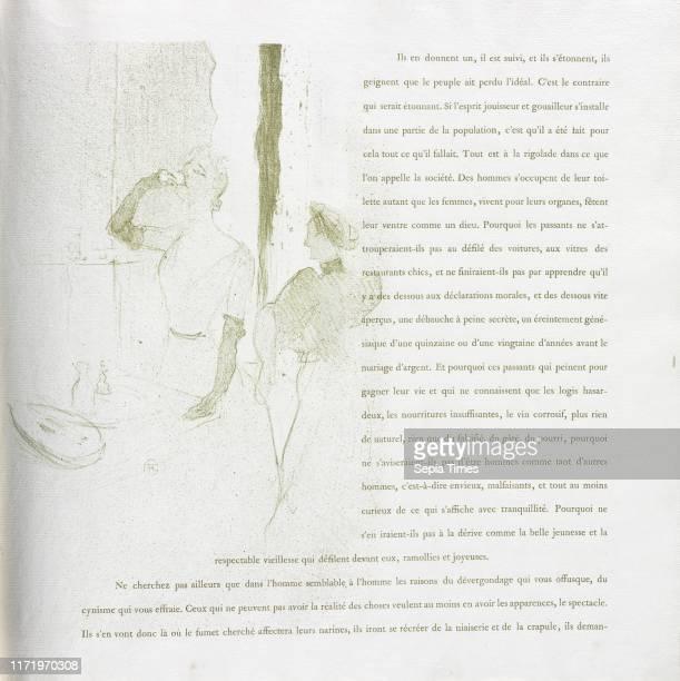No 14 1894 Henri de ToulouseLautrec Lithograph