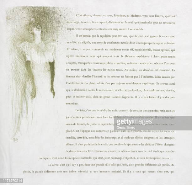 No 3 1894 Henri de ToulouseLautrec Lithograph