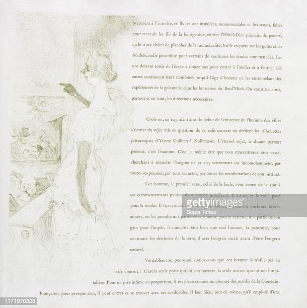 No 6 1894 Henri de ToulouseLautrec Lithograph