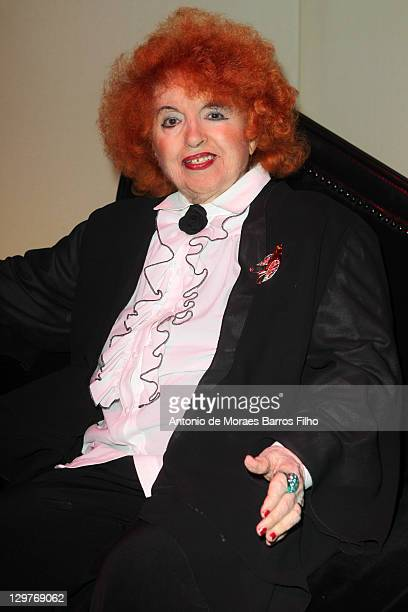 Yvette Horner attends JeanPaul Gaultier's 'De La rue Aux Etoiles' Book Launch on October 20 2011 in Paris France