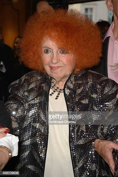 Yvette Horner attends the Jean Paul Gaultier show as part of the Paris Fashion Week Womenswear Spring/Summer 2015 on September 27 2014 in Paris France