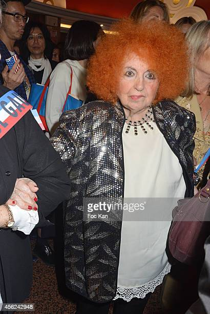Yvette Horner attends The Jean Paul Gaultier show as part of the Paris Fashion Week Womenswear Spring/Summer 2015 at the Grand Rex on September 27...