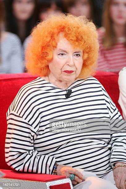 Yvette Horner attends Vivement Dimanche Tv show on September 21 2011 in Paris France