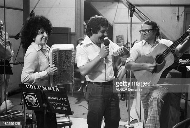 Yvette Horner In Nashville Nashville juin 1977 Yvette HORNER enregistre un disque à Nashville avec Charlie MAC COY Pierre CARREL et Max MEYNIER...
