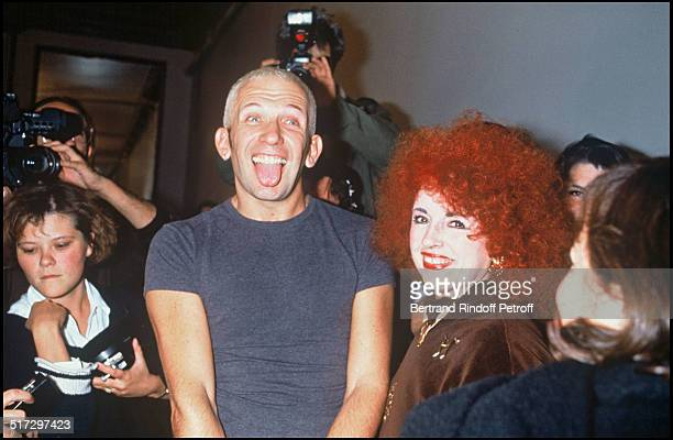 Yvette Horner with Jean Paul Gaultier ready to wear collection spring summer 1993