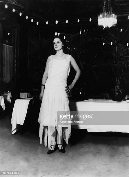 Yvette Labrousse. Miss France In 1930