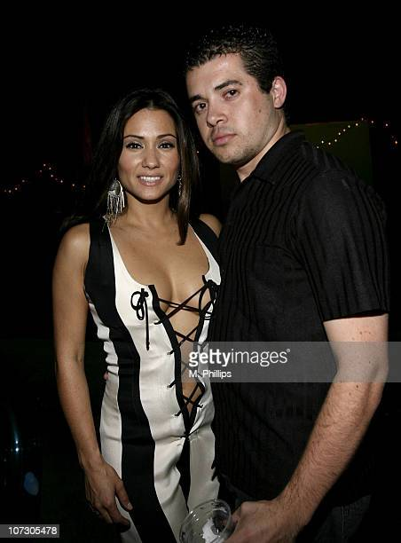 Yvette Lopez and David Avila during Last Chance for Animals Fundraiser at Private in Beverly Hills CA United States