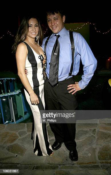Yvette Lopez and Robert Homes during Last Chance for Animals Fundraiser at Private in Beverly Hills CA United States